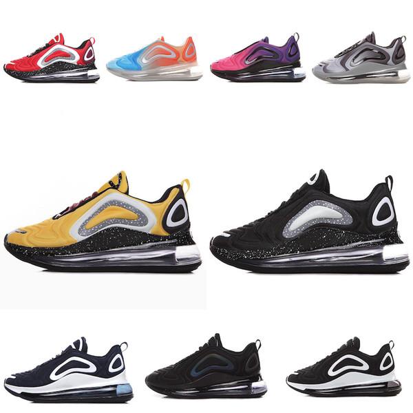 Nike Air Max 720 Hochwertige Designer heißer Verkauf Schuhe totale Sonnenfinsternis Sonnenuntergang Nordlichter Tag Mens Womens Laufschuhe