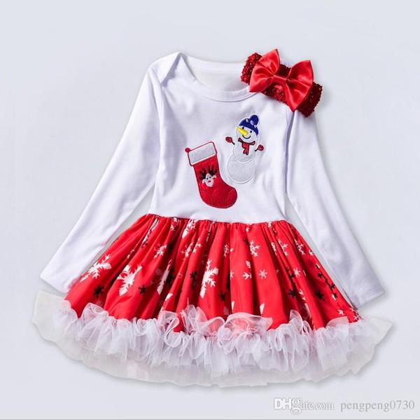 Bebé copo de nieve traje de escalada bebé 2019 nueva venta caliente de manga larga 0-2 años de edad vestido de bebé envío gratis
