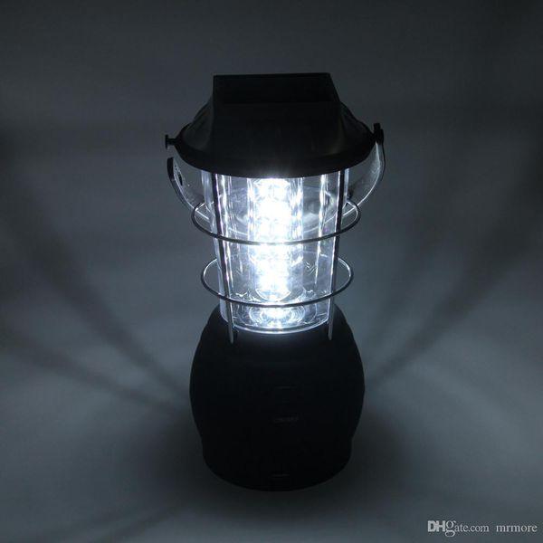 Super Bright Hand Crank Dynamo Solar 36 Led Camping Lantern Light Lamp Portable Tent Flashlight Outdoor Hiking Emergencies