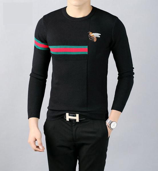 2019 дизайнерский свитер мужской свитер с длинным рукавом с круглым вырезом мужская новинка мужской дизайнерский свитер