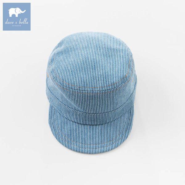 Dba6340-h Dave Bella Spring Baby Sombreros Infant Kids Denim Caps Niños Cool Hat J190528