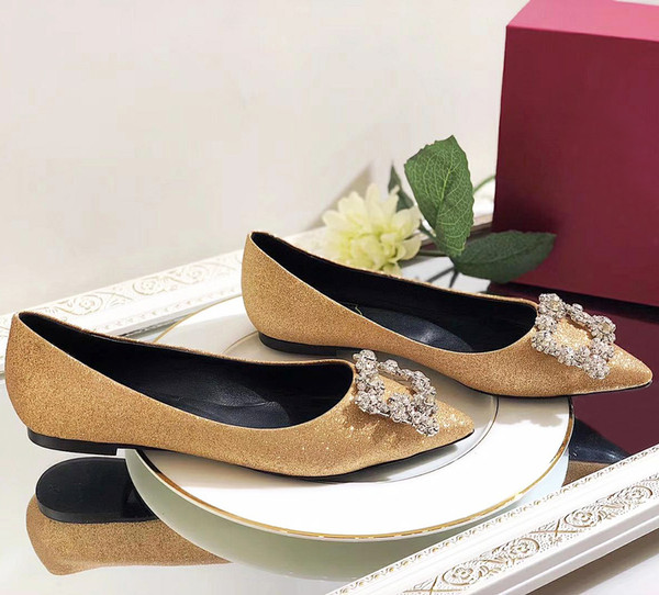 High quality brand design party wedding shoes bride Ms. ladies sandals fashion sexy dress shoes pointed high heels flash shallow mouth qh