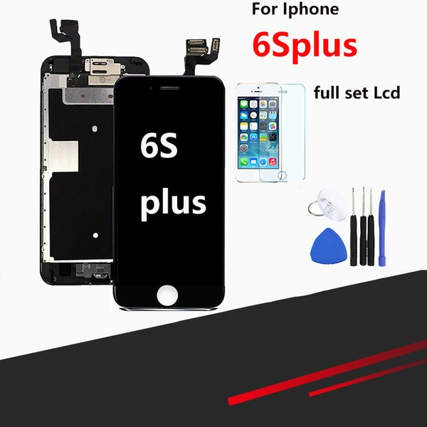 For iPhone 6s Plus LCD Full Assembly Finished 3D Touch Screen Replacement Display With Camera Home Button