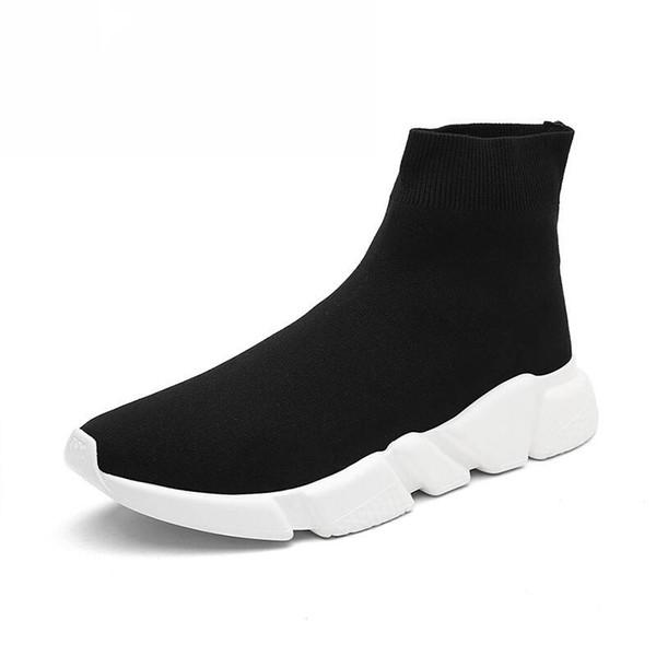 Designer Luxury Brand Sock Shoe Black White Mr Porter Running Shoes Men Women Sneakers Sock Boots Men Women Sports Shoes 36-45