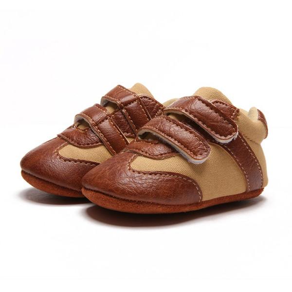 Baby Infant Shoes Newborn Kids Soft Sole Non-Slip Shoes Sneakers Prewalker Walking Casual Boys