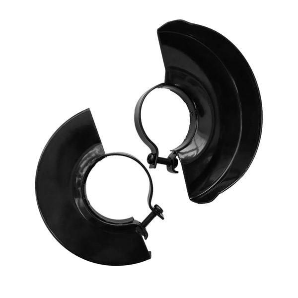 Copertura nera della protezione di sicurezza della protezione della ruota del metallo della base della tagliatrice per la smerigliatrice di angolo
