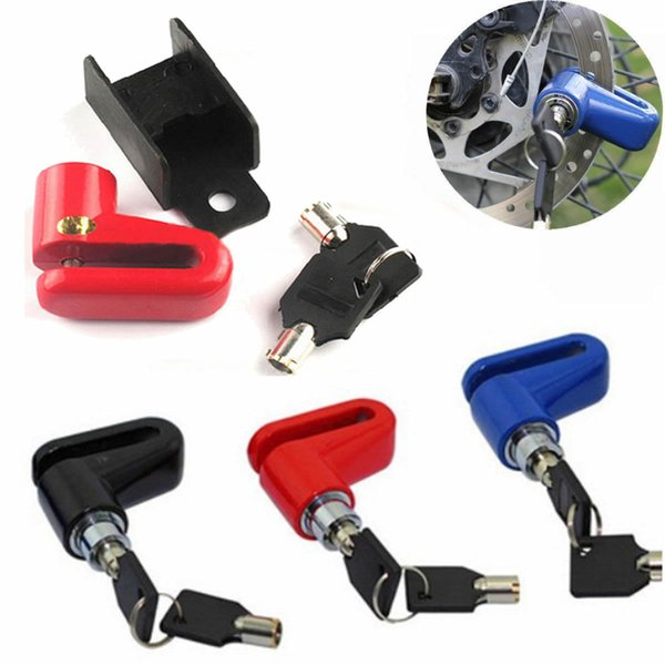 Heavy Duty Motorbike Bicycle Scooter Disc Lock Padlock Key Security Bike Lock UK