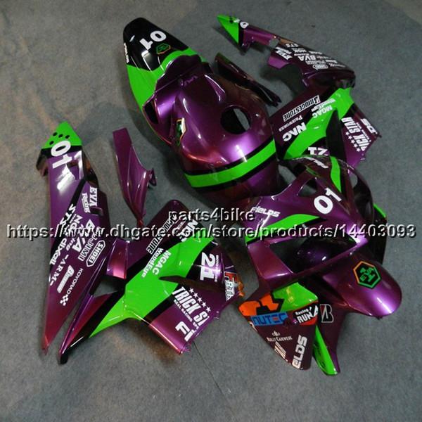 23colors + 5Gifts Molde de injeção roxo ABS Carenagem Para Honda CBR600RR 2005 2006 CBR 600 RR 05 06 artigo da motocicleta