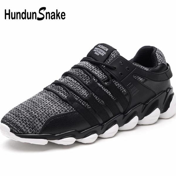 Hundunsnake Large Size Mens Scarpe da corsa Scarpe sportive da uomo Sport Estivi Sneakers da uomo Scarpe da ginnastica per adulti da uomo Tennis B-011