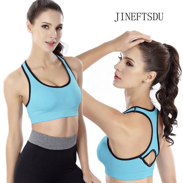 Yoga Women sport bra For top Fitness Running Quick Dry Ventilation Shockproof Seamless Sportswear Vest Motion Sleep Underwear