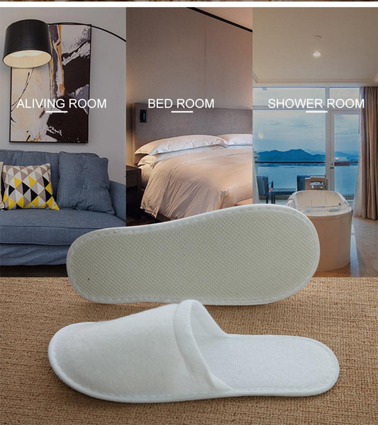 Hotel disposable slippers, spa, antiskid disposable slippers, home guests' shoes, multi-color breathable belt, OPP packaging