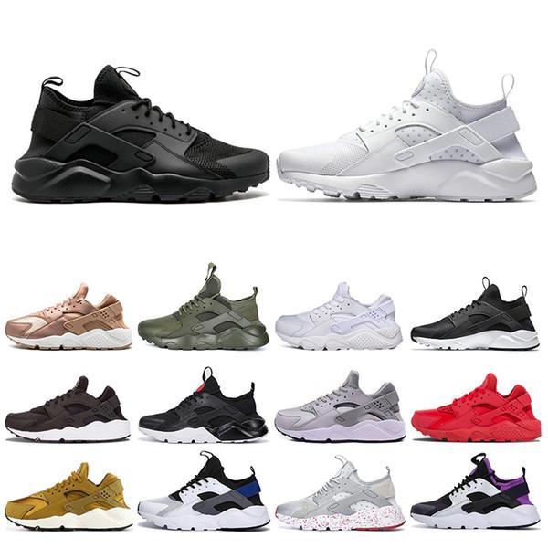 nike air huarache shoes Herren Damen 4.0 Huarache Männer Laufschuhe 1.0 Tripe Rot Schwarz Weiß Grau Damen Designer Schuhe Sport Sneakers Größe 5,5 11