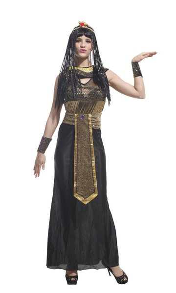 Shanghai Story Halloween adult women cos costumes sexy Egypt crown princess cleopatra Cosplay for 155-175cm women