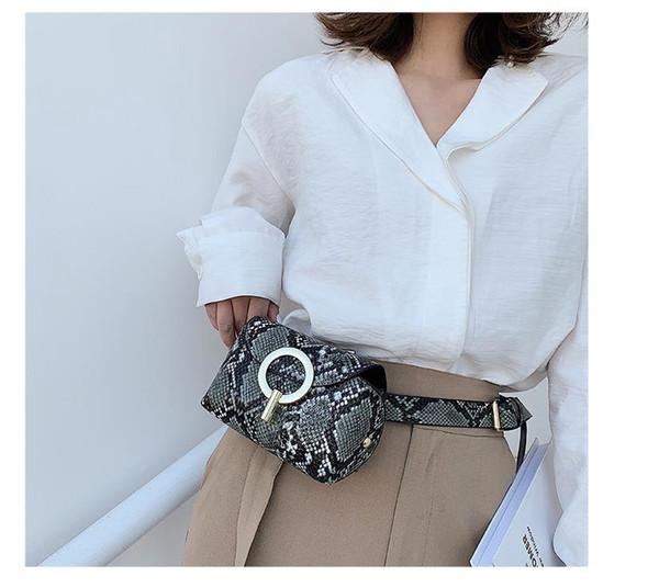 Новые модные дизайнерские сумки Модные женские сумки Талия Сумка Fanny Packs Сумки женские на ремне Женская грудная сумка