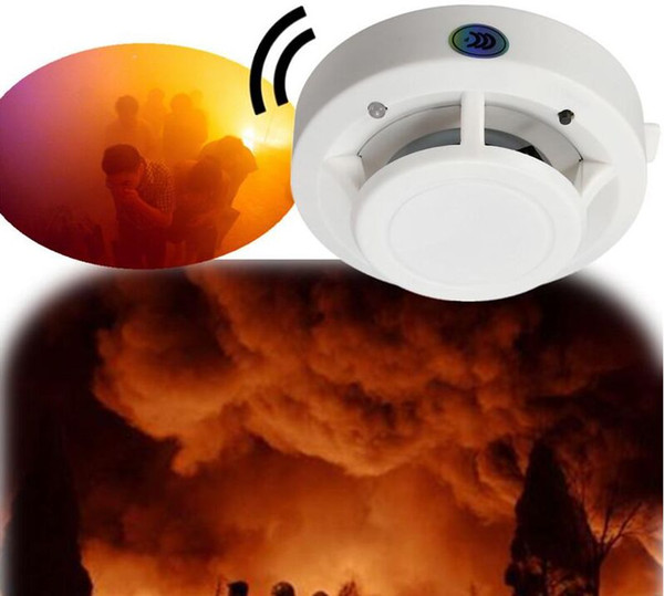 best selling smoke Detector Alarm System with 9V Battery Operated High Sensitivity Stable Fire Alarm Sensor Suitable for Detecting Home Security
