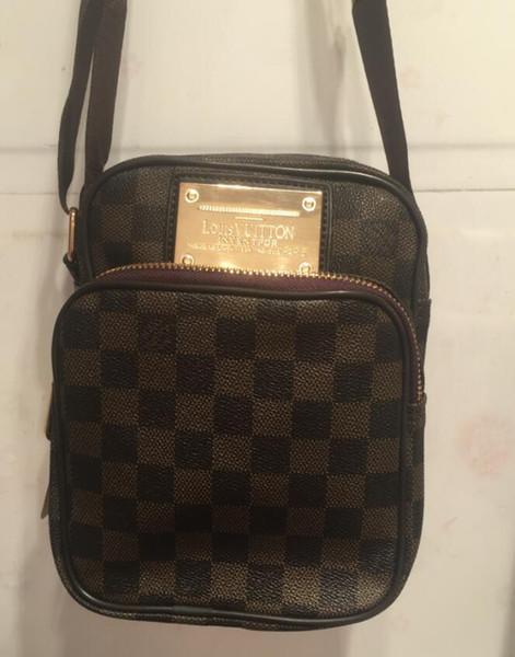 b781aa163637e Toptan popüler erkekler çanta yeni rugan omuz çantası erkek alışveriş çantası  Postacı paketi Messenger çanta