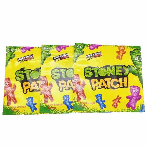 Newest Stoney Patch Package Vape Caritridges Package Stone Patch Clear Atomizer Vape Carits Package OEM Accept