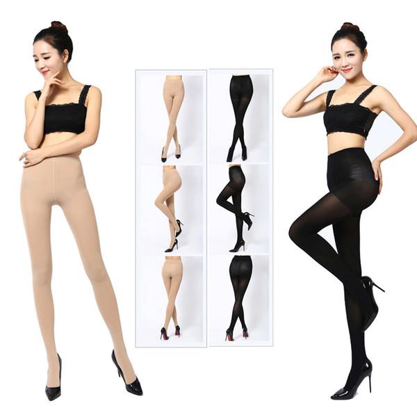 Mulheres Sexy Leggings Top Garter Belt Coxa Meia-calça engraçado Calças de natal meias longas Leggings chaussette femme # 40