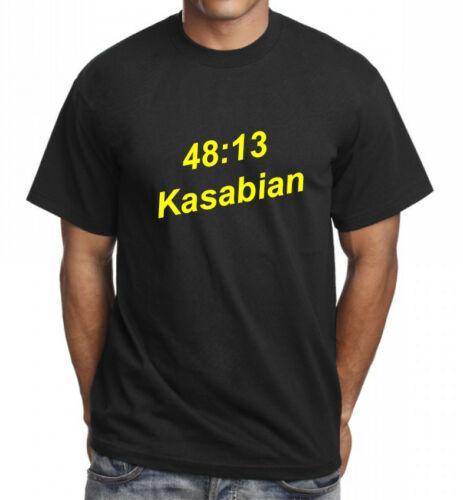 Kasabian Music Rock Band Mens T shirt Tee TOP Present T shirt Gift idea Men Women Unisex Fashion tshirt Free Shipping