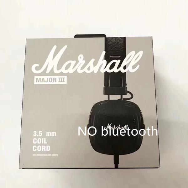 Marshall Major III 3.0 2.0 Cuffie wireless Bluetooth Cuffie con isolamento acustico per bassi profondi Wireless Major 3 Hi-Fi