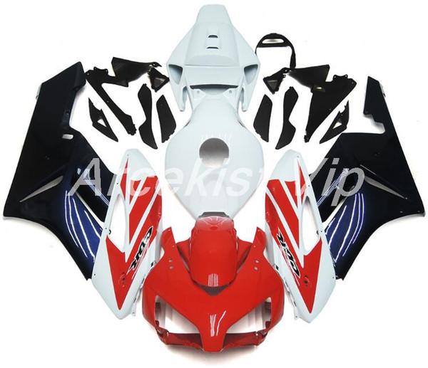 4Gifts Neue ABS Spritzguss Motorrad Verkleidungen Kits 100% Fit für Honda CBR1000RR 04 05 2004 2005 Karosserie Set Custom schwarz rot