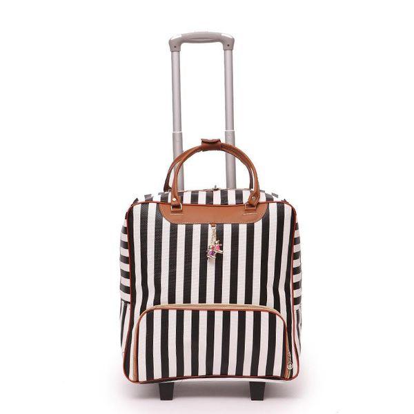 Новые женские дорожные чемоданы, чемоданы высокого качества, с подвижной тележкой, кожаные сумки для мужчин, багажные колеса, драгбоксы