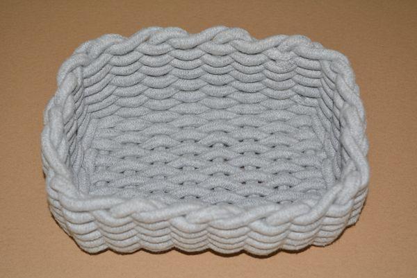 handmade gray cotton serviceable large capacity Waterproof Laundry Desktop Basket Storage Box Folding high Quality