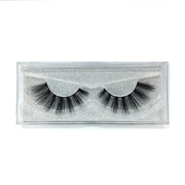 A25 The newest A pair of mink false eyelashes cross eyelashes thick hot sales false eyelash ripple silk eyelash