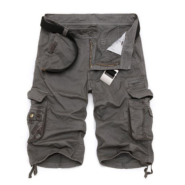 Pantaloncini cargo Uomo Cool Camouflage Summer Cotton Casual Uomo Pantaloni corti Marchio di abbigliamento Confortevole Camo Men Cargo Shorts