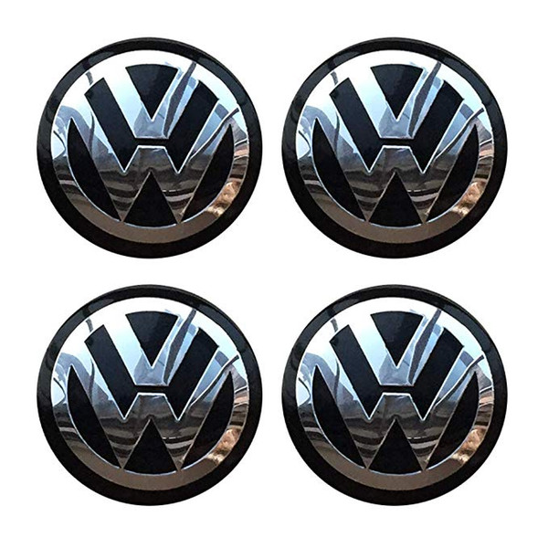 4PCS 90mm 3.54'' Auto Car Styling Accessories Emblem Badge Sticker Wheel Hub Caps Centre Cover fit for VW Volkswagen B5 B6 MK4 MK5 MK6 Golf