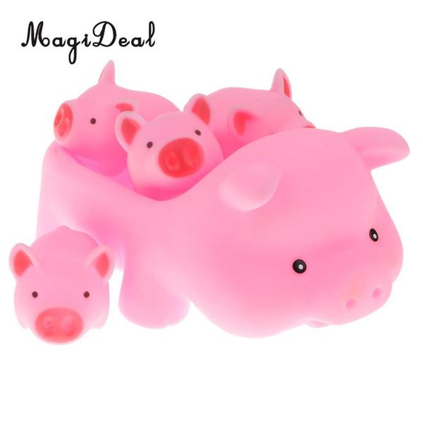 Ducha Aamp;price; Compre Bañera 4 Del Goma Temporizador Para Linda Agua De Squeaky Niños Animals Toddler 1 Pig Juguete Mom Baby Baño sQdxohCBtr