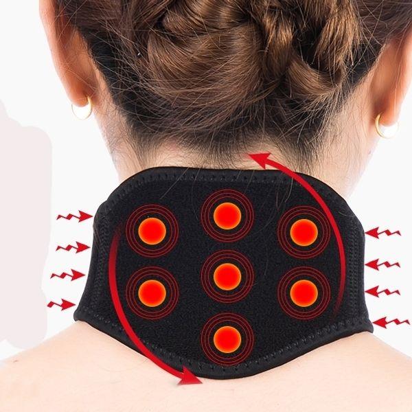 massage Self heating Neck masseur pain Belt Body building Universal fitness basketball sport accessories tape leg warmers #315679