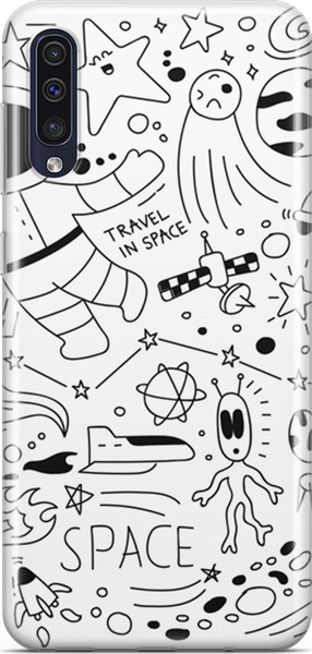 Melefoni melefo the for samsung for galaxy space series a50 michelle pattern cases ship from turkey HB-003736435