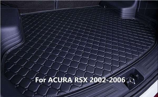 Waterproof Car Rear Cargo Boot Trunk Cargo liner Mat Pad For ACURA RSX 2002-2006