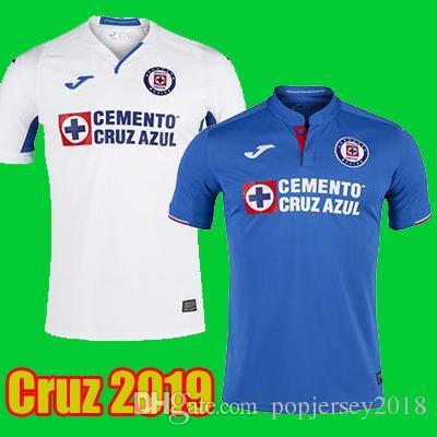 Thailand Quality 2019 2020 Mexico Club Cruz Azul Liga MX Soccer Jerseys 19 20 Home Away Football Shirts camisetas de futbol