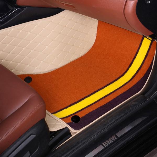 Car floor mats for Kia Sorento Sportage Optima K5 Forte Cerato rio car styling carpet high quality case rugs liners