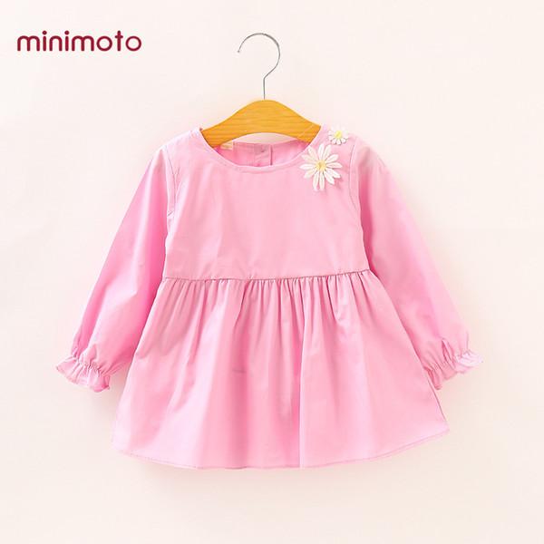 Bebé Niña Algodón Vestidos Compre Lindo Primavera De T4OTxf