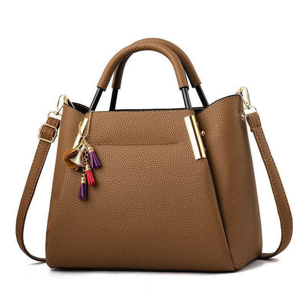 1Woman Package Handbag Concise Satchel Handbag Bag