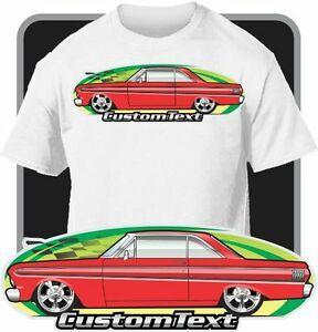 Özel Araba Sanatı T-shirt 64 1964-65ArriveHardtop 2 kapı Coupe ilham verdi.