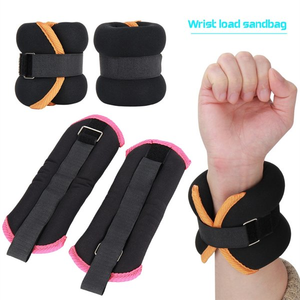 1 Pair Durable Ankle/Wrist Weights with Adjustable Strap for Fitness Exercise Walking Jogging Gymnastics Aerobics Gym #70109