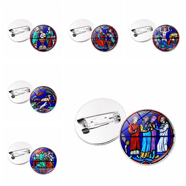 Notre Dame de Paris Brosche Pins Mode Einzigartige Abzeichen Unisex Einfaches Design Schmuck Frau Kreative Party Zubehör TTA787
