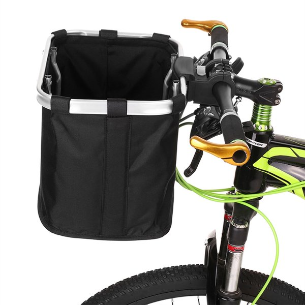 Lixada Bicycle Front Bag Large Capacity Bike Handlebar Basket MTB Pannier Frame Tube Cycling Pet Bag for casco ciclismo #181486