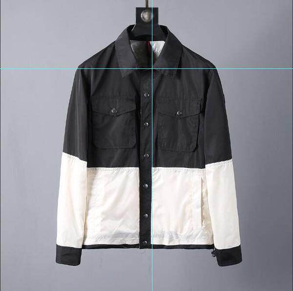 hombre de marca monclers chalecos a prueba de viento chaqueta de moda de lujo nuevo mejor venta de deportes al aire libre desgaste abrigos de ocio de alta calidad clásica