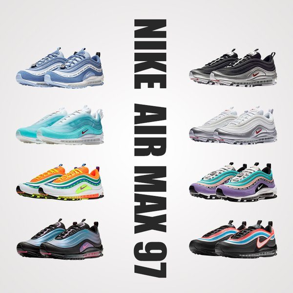 best selling Airs Men Maxes Shoes 97 Undefeated x OG Sneakers Women Maxes Sports Outdoor 97 Shoes Black White airsck Sports Sneakers 27C TN Plus Trainers