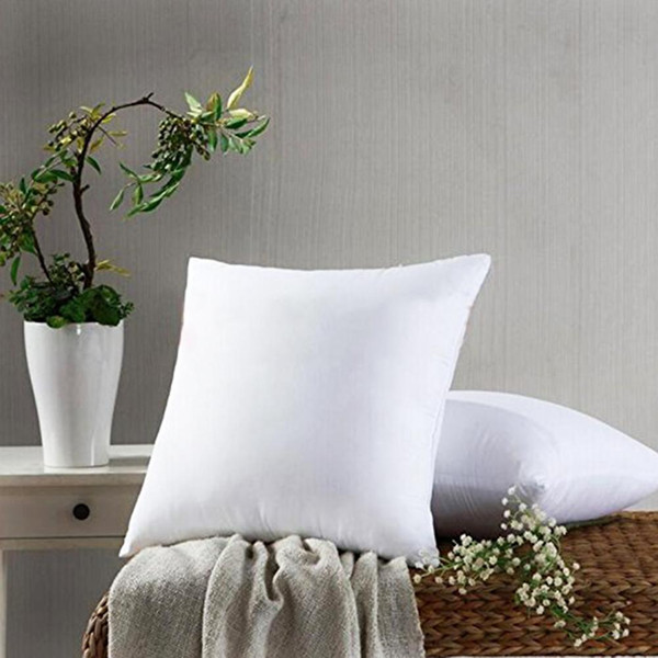 top popular Soft Square Throw Pillow Inner Cushion Insert Pillow Core Filler Home Bedding Articles 2019