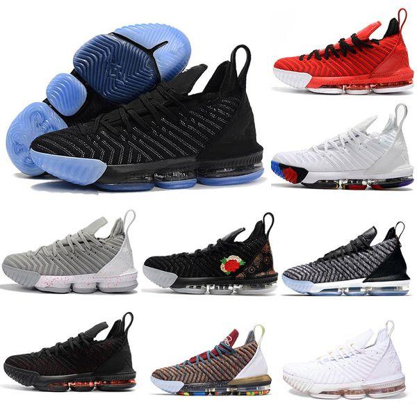 Moda James Mens sapatos de Basquete Igualdade CNY Oreo Cred Lebron 16 Battleknit 2 Cestas de Designer Esportes Sapatilha Homens Formadores Tamanho 7-13