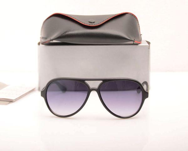 Matte Black Frame Grey Lens