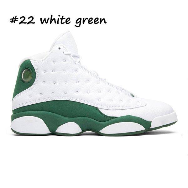 22 branco verde