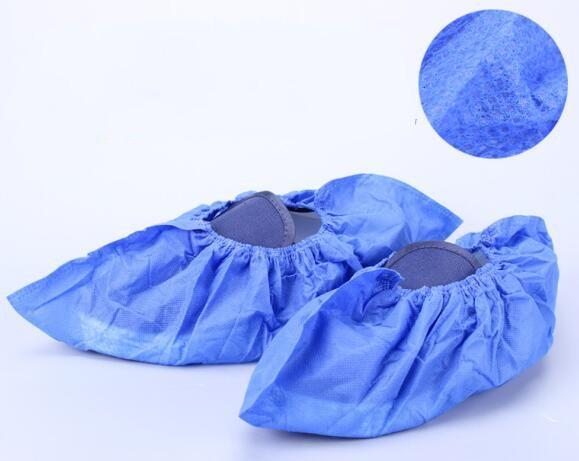 Disposable shoe cover dark blue 4023