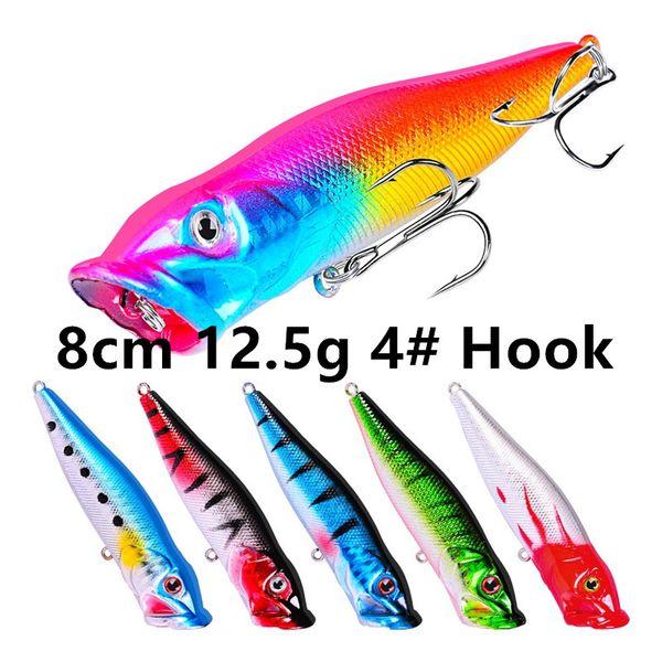 8cm 12.5g 4# Hook